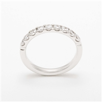 Elegant Platinum 0.70ct Diamond Eternity Ring