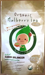 Organic White Mulberry Tea (15 Tea Bags) Dr. OZ Recommends for blocking sugar