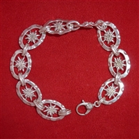 Large Double.Sided Link Edelweiss Bracelet