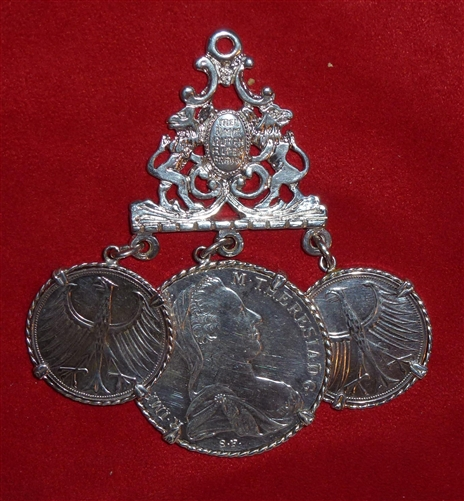 Men's  Charivari with coins