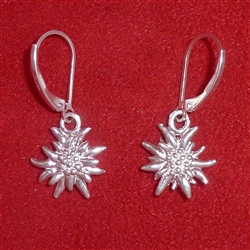 Double Sided Edelweiss Earrings