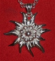 Ladies' Edelweiss Pendant and Chain