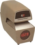 ARL-E Rapidprint Automatic Time & Date Stamp with Digital Clock (G.S.A ITEM)