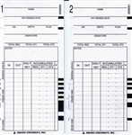 ARX-101300 Time Cards for MRX-35