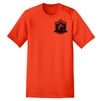 4 t H Woods and Water Antler Tee-Orange