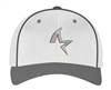 Bombers Fastpitch White-Graphite Shark Star Hat