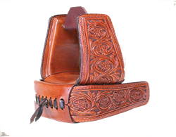 Saddle Upgrade Leather Stirrups