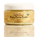 Organic Baby Body Butter (natural)