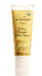 Organic Baby Diaper Rash Salve (natural)