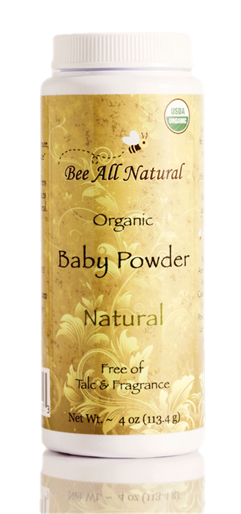 Organic Baby Powder (natural)