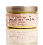 Organic Intense Hand & Foot Salve  (peppermint)