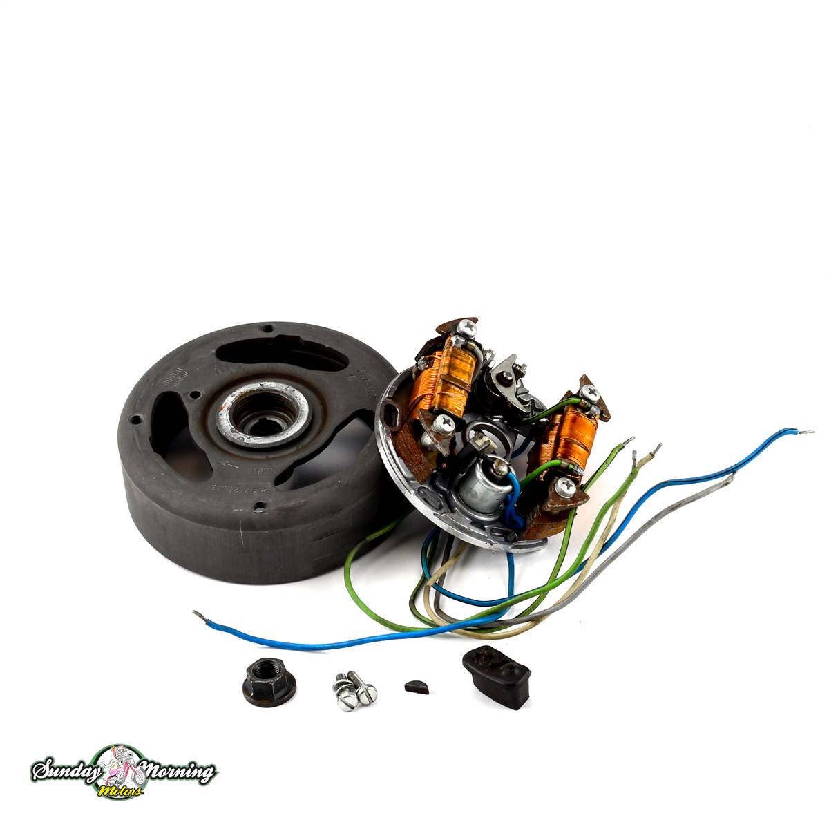puch moped e50 6 wire magneto assembly complete rh chzbx xpvut servertrust com E50 Tank Cable De Poder E50