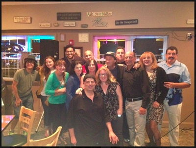 Comedy show (16 comedians and Richie Ragu, host) at LJ's Cafe, Lindenhurst, NY- 8/23/13