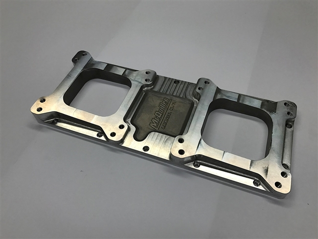 690HP Intake 2x4bl 4150/Holley and Carter Inline Top Plate