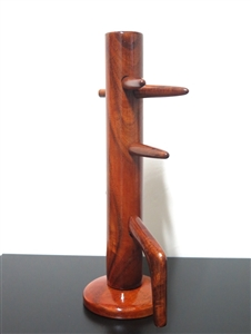 Buick Yip - Mini Wooden Dummy - in Marble or Lychee Wood