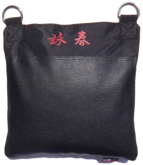 Everything Wing Chun - Ultimate Heavy-Duty Wall Bag - Standard v12 - Genuine Leather on Nylon/Canvas