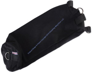 Everything Wing Chun - Precision Striking and Kicking Bag - Black