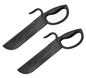 Plastic Wing Chun Butterfly Swords - Dragon Chopper