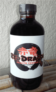 Dit Da Jow - Red Dragon -  Aged 3 Year Jow 4 oz