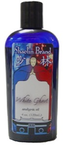 Liniment - White Ghost Massage - 4 oz