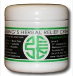 Grandmaster William Cheung's Healing Massage Cream - 100g bottle (3.5 oz)
