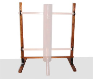 Buick Yip - Wooden Dummy Floor Stand