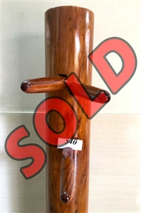 Buick Yip - Temple Pillar Wood Wing Chun Wooden Dummy -  Mook Yan Jong 540