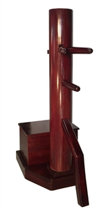 MasterPath - Free-Standing Wing Chun Wooden Dummy with Box v2 (Made On Demand)