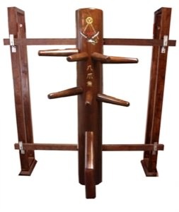 Wooden Dummy - The OCTOPUS (with Wall Stand) - Designed by Sifu Randy Williams