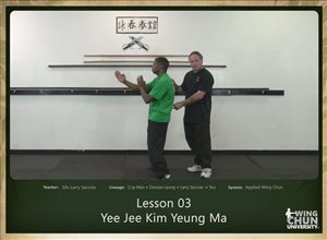 DOWNLOAD: Larry Saccoia - Applied Wing Chun - Lesson 003 - Yee Jee Kim Yeung Ma