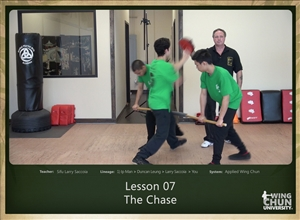 DOWNLOAD: Larry Saccoia - Applied Wing Chun - Lesson 007 - The Chase