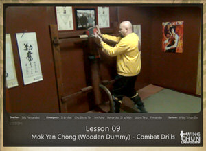 DOWNLOAD: Sifu Fernandez - WingTchunDo - Lesson 09 - Mok Yan Chong (Wooden Dummy) - Combat Drills