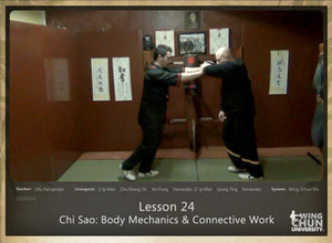 DOWNLOAD: Sifu Fernandez - WingTchunDo - Lesson 24 - Chi Sao - Body Mechanics & Connective Work