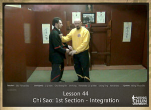 DOWNLOAD: Sifu Fernandez - WingTchunDo - Lesson 44 - Chi Sao - 1st Section - Integration