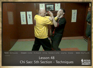 DOWNLOAD: Sifu Fernandez - WingTchunDo - Lesson 48 - Chi Sao - 5th Section - Techniques