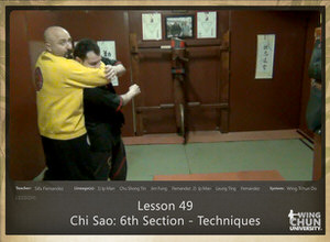 DOWNLOAD: Sifu Fernandez - WingTchunDo - Lesson 49 - Chi Sao - 6th Section - Techniques