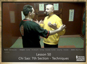 DOWNLOAD: Sifu Fernandez - WingTchunDo - Lesson 50 - Chi Sao - 7th Section - Techniques