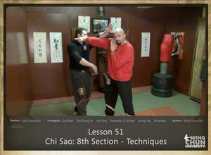 DOWNLOAD: Sifu Fernandez - WingTchunDo - Lesson 51 - Chi Sao - 8th Section - Techniques