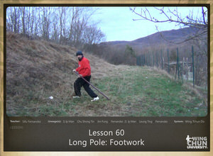 DOWNLOAD: Sifu Fernandez - WingTchunDo - Lesson 60 - Long Pole - Footwork