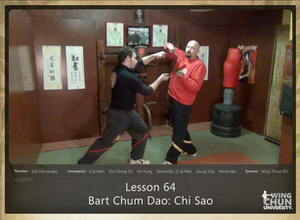 DOWNLOAD: Sifu Fernandez - WingTchunDo - Lesson 64 - Bart Chum Dao - Chi Sao