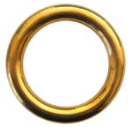 True Brass Forearm Ring - 12.5 cm (One Ring)