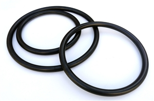Wing Chun Ring Set - 8, 10, 12 Inch Rings - Black