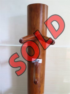 Buick Yip - Temple Pillar Wood Wing Chun Wooden Dummy -  Mook Yan Jong 488