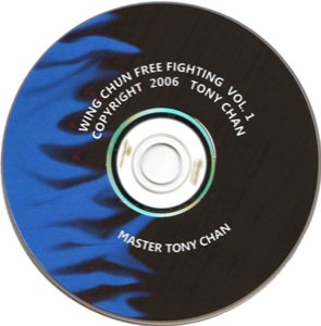 Tony Chan - Wing Chun Free Fighting 1 DVD