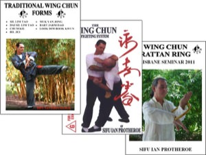 Bundle - Ian Protheroe - Traditional Wing Chun and Ring Collection