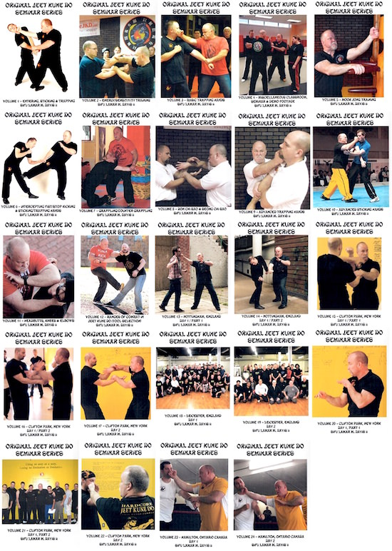 Lamar Davis - BUNDLE - 24 Video Set - Jeet Kune Do Seminar Collection