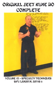 Lamar Davis - Original Jeet Kune Do Complete 18/20 - Specialty Techniques