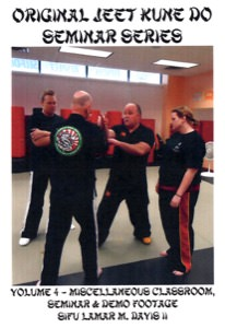 Lamar Davis - Original Jeet Kune Do Seminars Vol 4 - Miscellaneous Classroom, Seminar & Demonstration Footage
