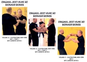 Lamar Davis - Original Jeet Kune Do Seminars Vol 15/16/17 - Clifton Park, New York