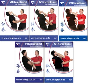 Bundle - Sifu Niko - Wing Tsun 4-8 - Advanced Levels 1